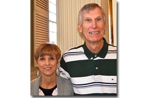 Майк Руштон и его жена Вики