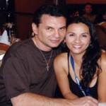 Майкл Францис с женой