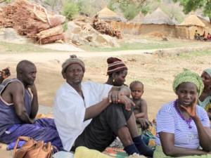 нигерийские беженцы в Камеруне